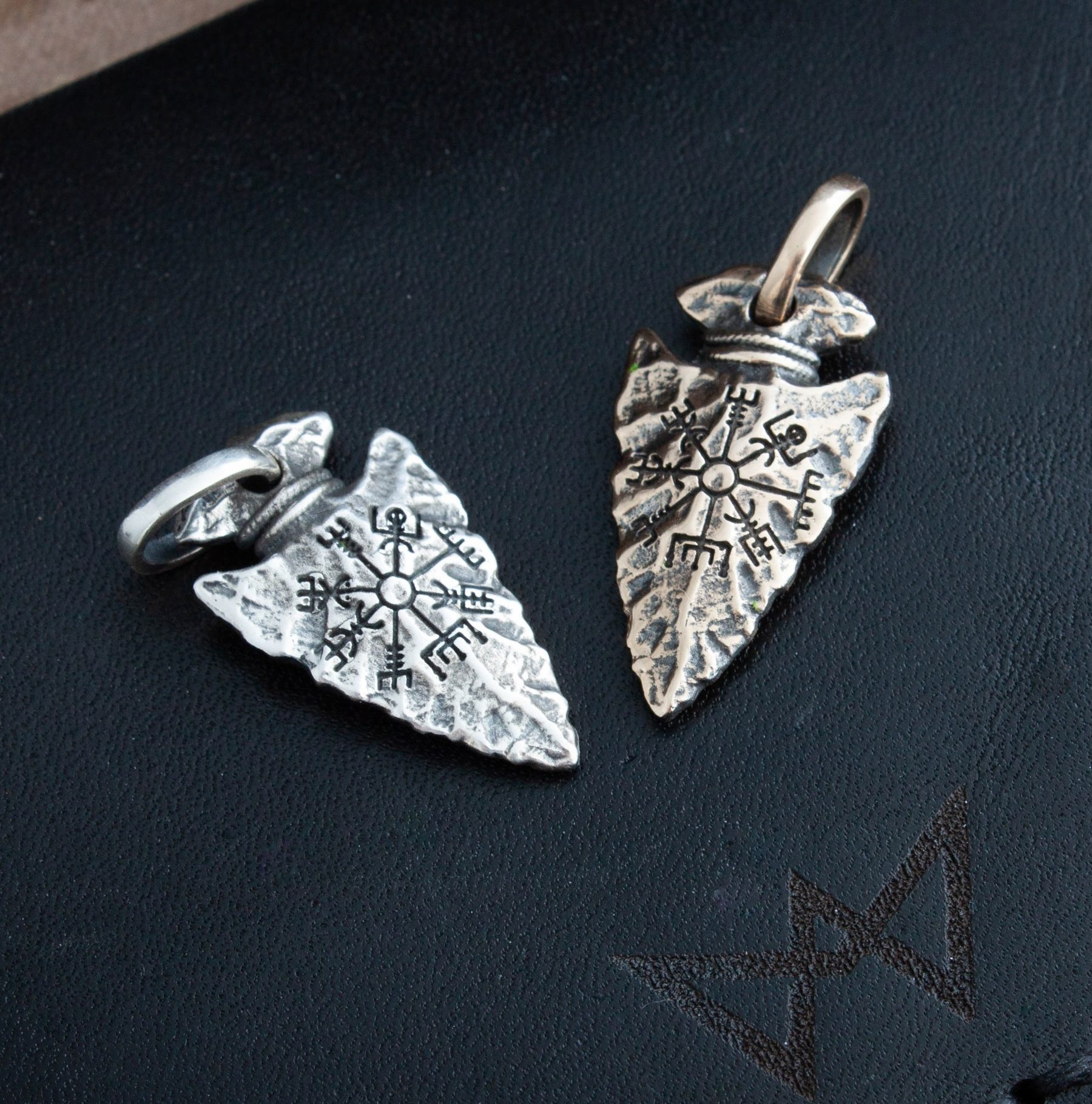 Collectibles Viking Necklace Arrowhead Pendant Norse Mythology