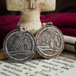 Merchandise Viking Shield Amulet Norse Mythology Necklace