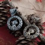 Merchandise Unicorn Medallion Trinity Knot Norse Mythology