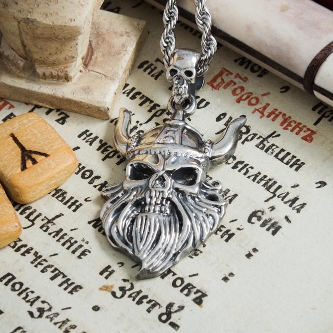 Merch Konung Necklace Viking Amulet Norse Mythology