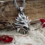 Merchandise Phoenix Medallion The Witcher Pendant