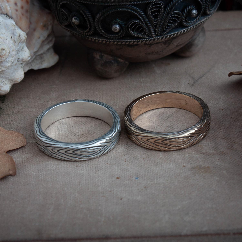 Collectibles Dark Souls Ring Dark Wood Grain