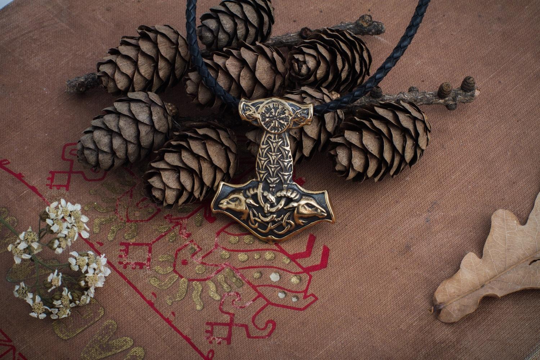 Merchandise Thor'S Hammer Mjolnir Necklace Norse Mythology