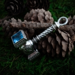 Collectibles Hammer Medallion Kolovrat Symbol Norse Mythology