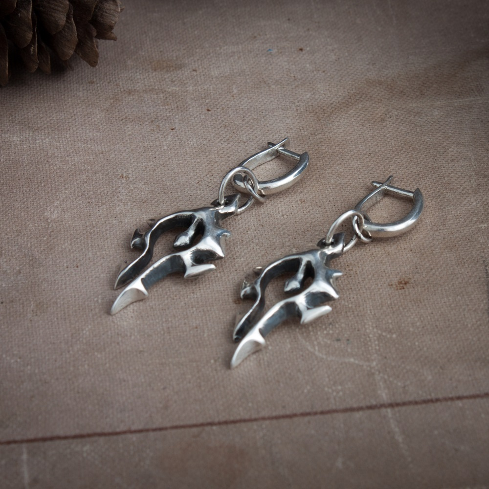 Merchandise Horde Symbol Set Earrings Necklace Word Of Warcraft