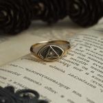 Merchandise Eye Of Providence Ring Mystic Jewellery
