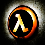 Merch Night Light Half Life Game Lamp Logo