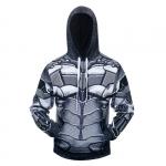 Merchandise Hoodie Batman Arkham Knight Armor Costume Hooded Jacket