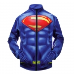 Collectibles Bomber Superman Blue Red Baseball Jacket