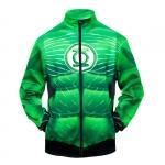 Merch Bomber Green Lantern Logo Baseball Jacket