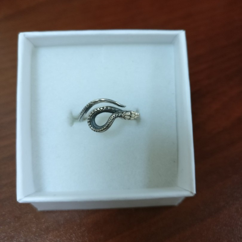 Merchandise Snake Ring Serpent Hanmade Mystic