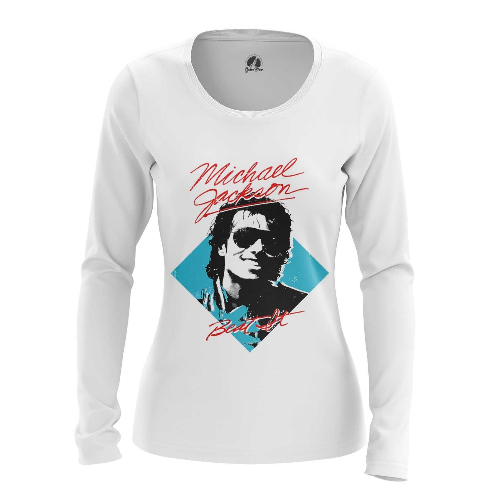Merch Women'S T-Shirt Beat It Michael Jackson Merch Top