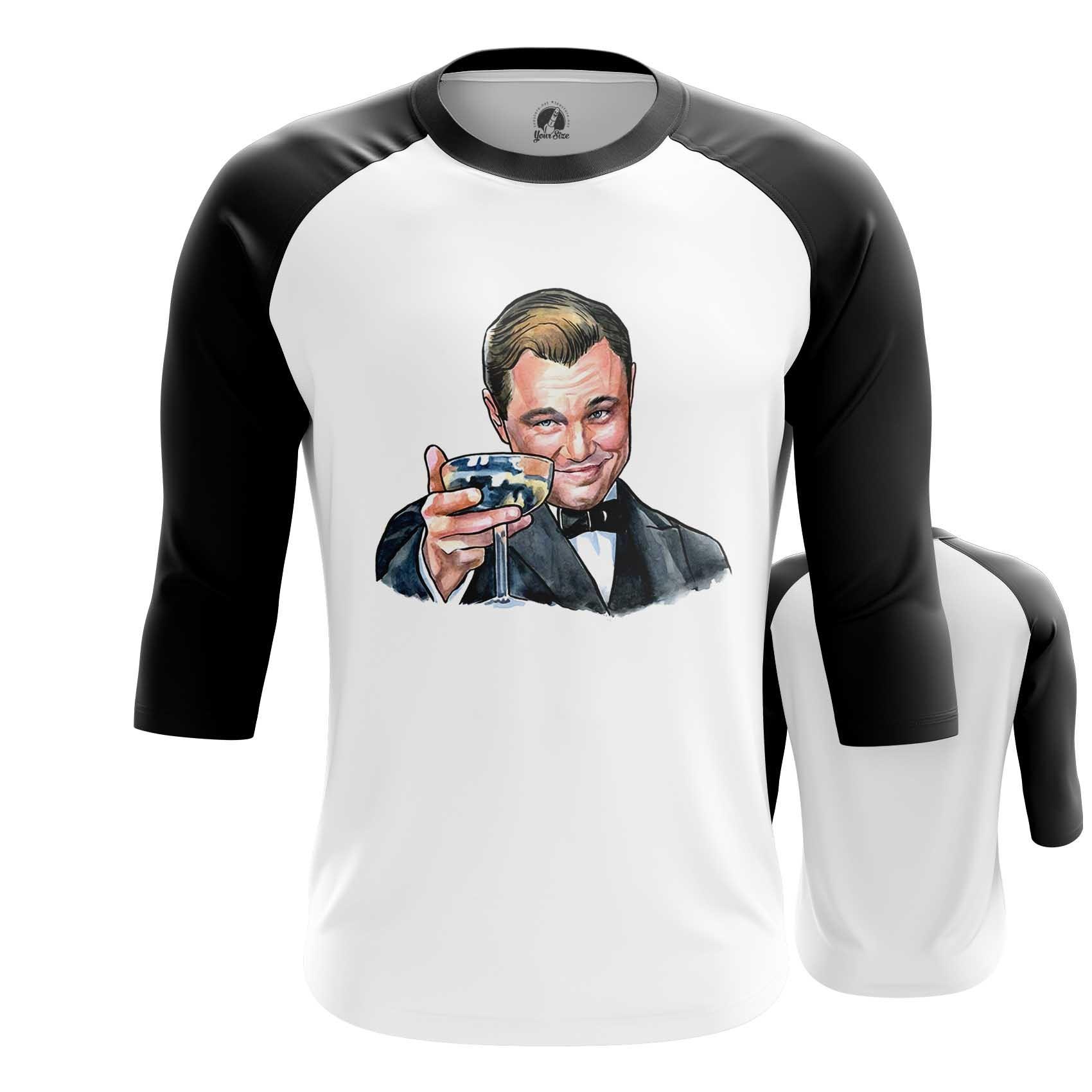 Merch Men'S Raglan Great Gatsby Merch