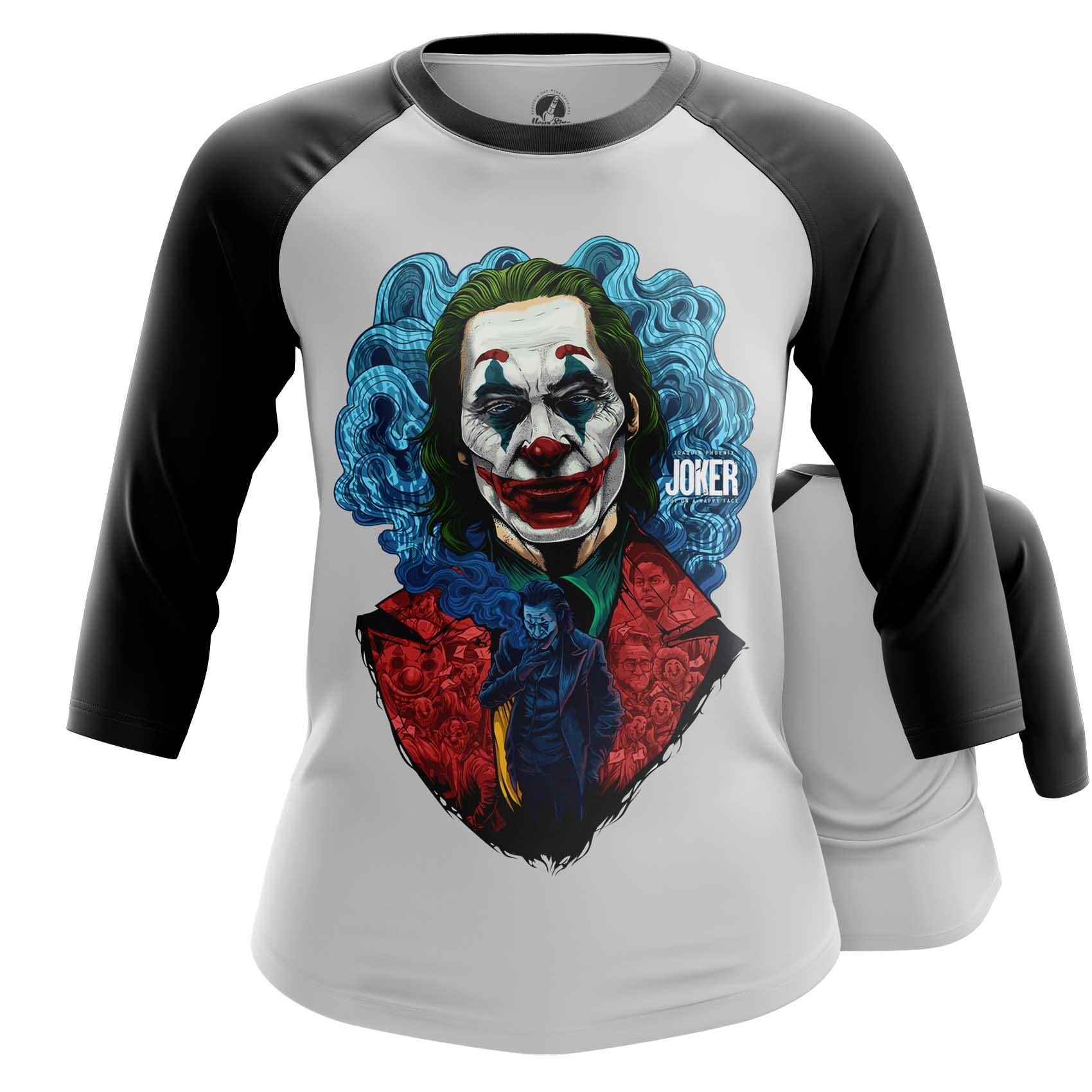 Merchandise Women'S Long Sleeve Joker Joaquin Phoenix Cloth