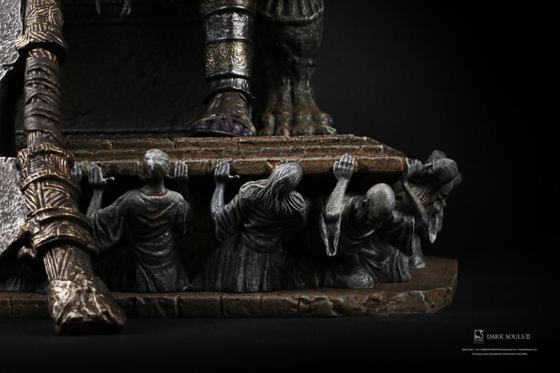 Collectibles Statue Dark Souls Iii Yhorm 1:18 Collectible Figure