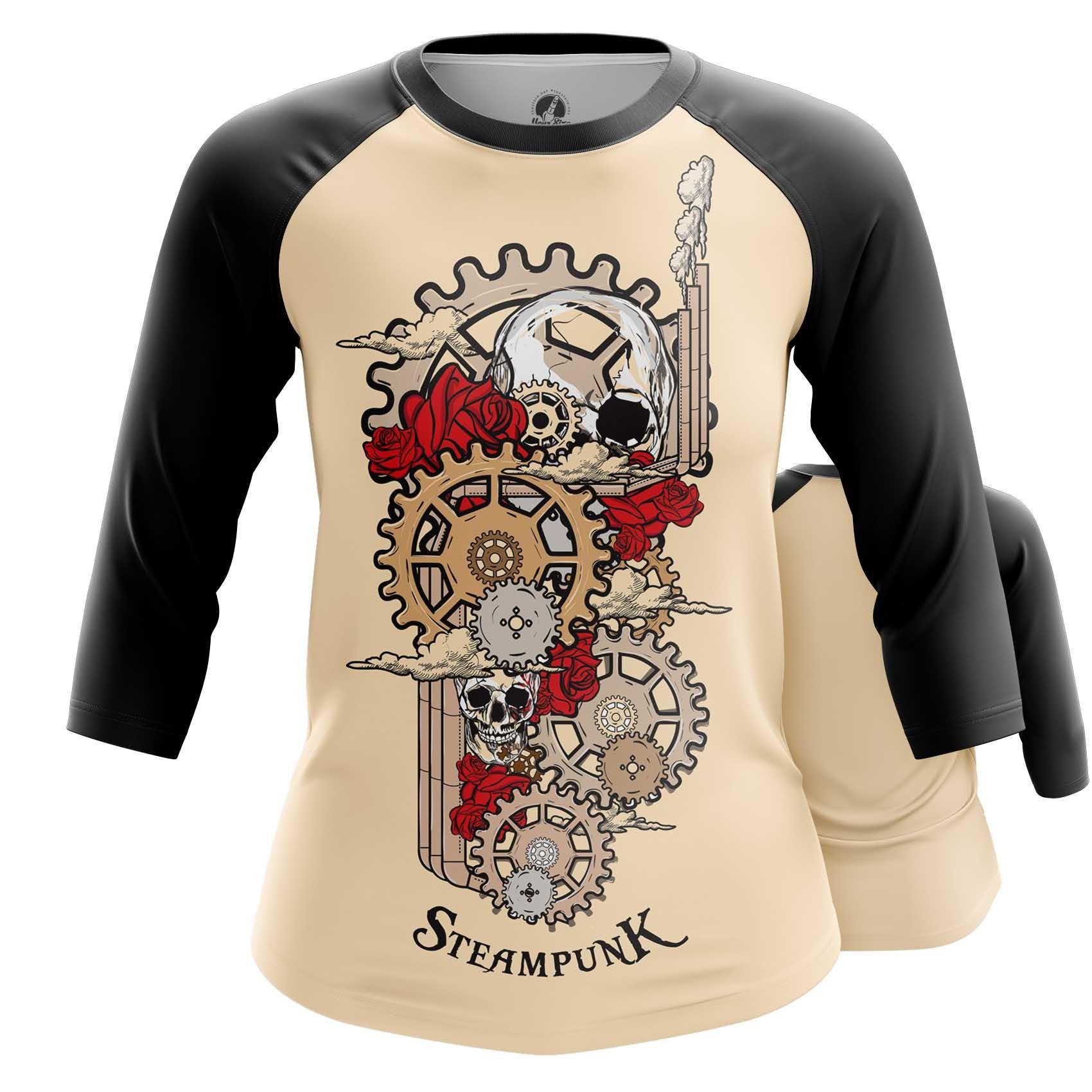 Merchandise Womens Tank Steampunk Mechanism Print