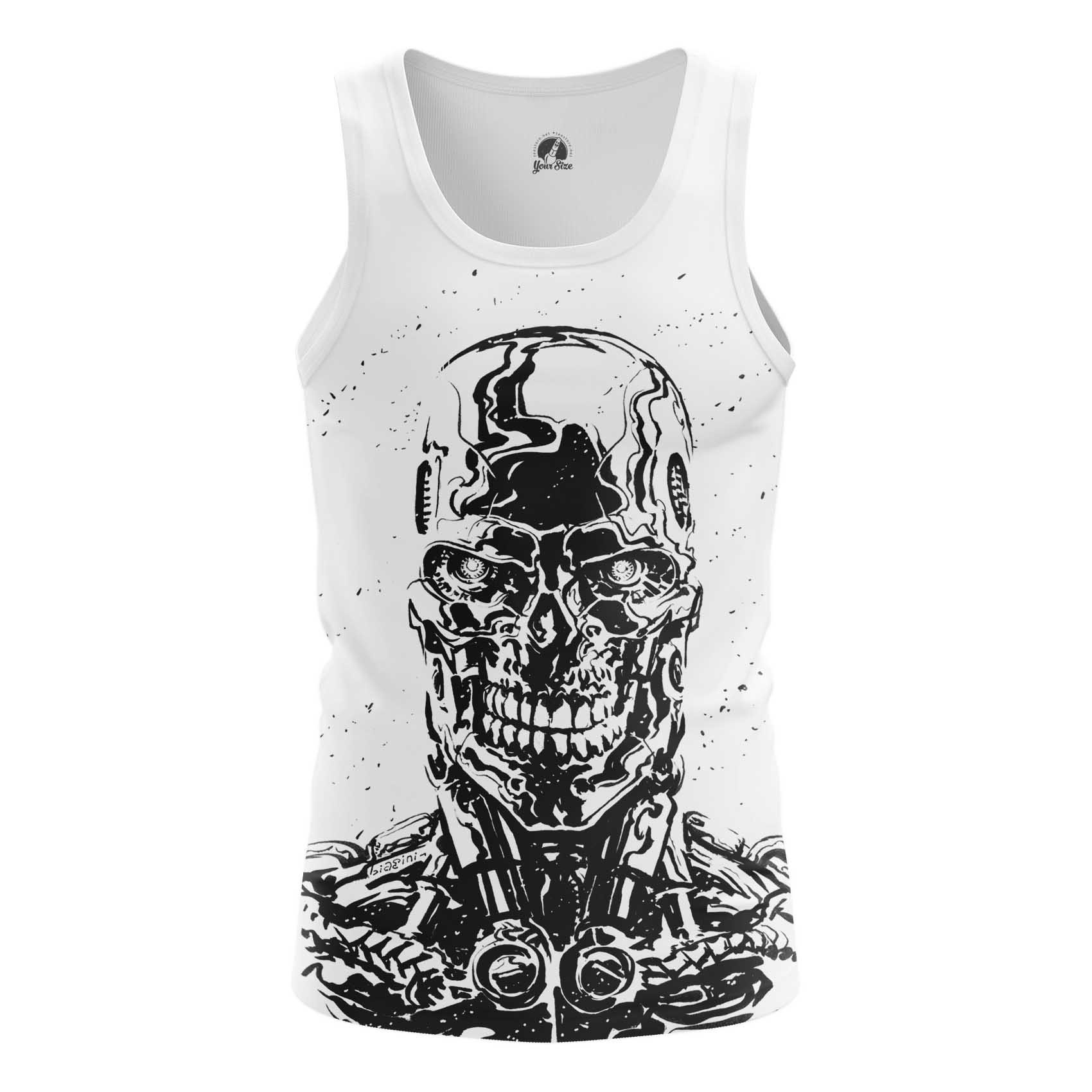 Merchandise Men'S Long Sleeve Skull Endoskeleton Terminator