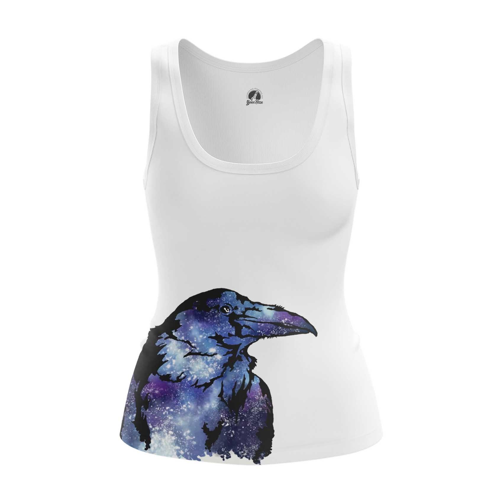 Merch Womens Tank Raven Crow Print