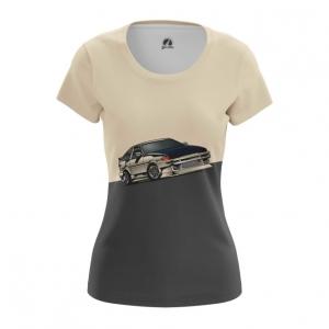 Merch Women'S T-Shirt Ae86 Toyota Car Top