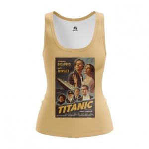 Merch Women'S Tank Titanic Print Cover Poster Vest