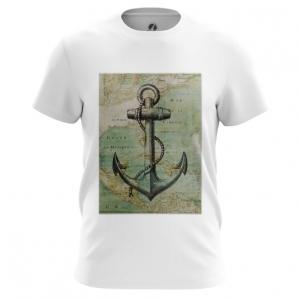 Collectibles Men'S T-Shirt Sea Anchor Print Top