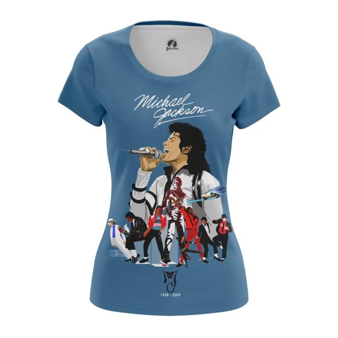 Collectibles Women'S T-Shirt Michael Jackson Tribute Merch Top