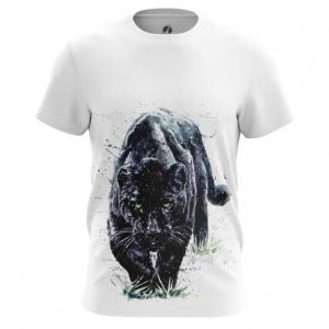 Merchandise Men'S T-Shirt Black Panther Wild Cat Top
