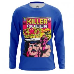 Merchandise Men'S Long Sleeve Killer Queen Freddie Mercury