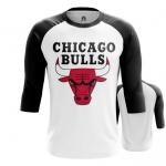 Collectibles - Mens Raglan Chicago Bulls Logo Basketball