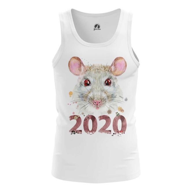 Merch Men'S Tank New Year 2020 Symbols Vest