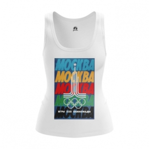 Merch Women'S Tank Moscow 1980 Olympic Games Clothing Vest