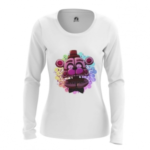 Merch Women'S Long Sleeve Game Five Nights At Freddy'S