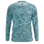 Merchandise Men'S Long Sleeve New Year 2020 Pattern Symbols