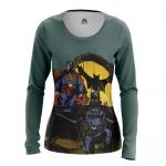 Merch Women'S Long Sleeve Steampunk Batman Superman