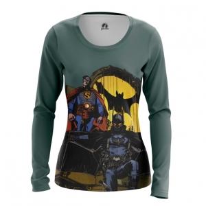 Collectibles Women'S Long Sleeve Steampunk Batman Superman