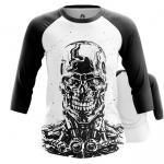 Merchandise Women'S Raglan Skull Endoskeleton Terminator