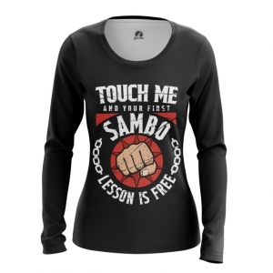 Merchandise Women'S Long Sleeve Russian Sambo Merch Clothing