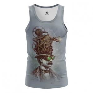 Collectibles Steampunk Men'S Tank Vest Grey
