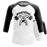 Merchandise - Women Raglan Powerlifting Merch