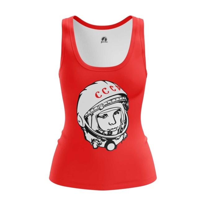 Merchandise Women'S Tank Yuri Gagarin Cosmonaut Vest