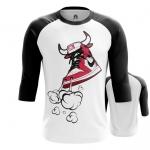 Merchandise - Mens Raglan Air Jordan Chicago Bulls