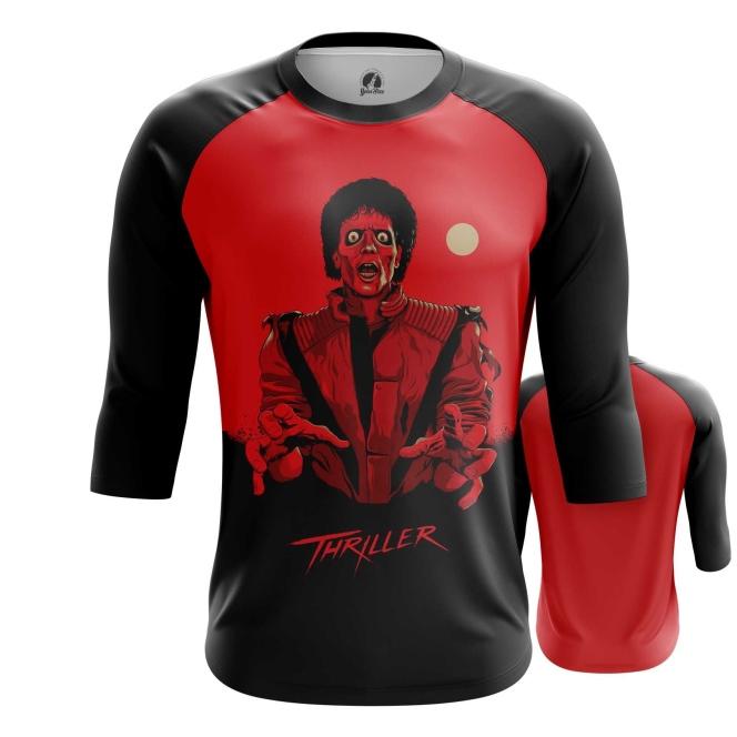 Merch Men'S Raglan Thriller Michael Jackson