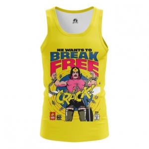 Merchandise Men'S Tank Break Free Freddie Mercury Vest