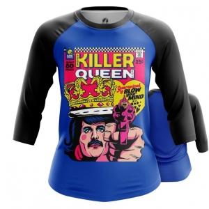 Merchandise Women'S Raglan Killer Queen Freddie Mercury