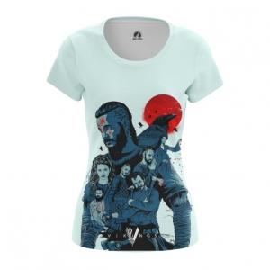 Merchandise Women'S T-Shirt Vikings Tv Series Ragnar Top