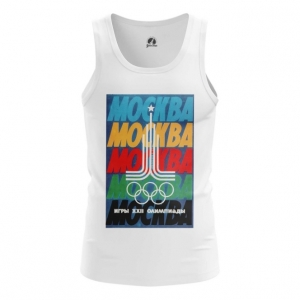 Merch Men'S Tank Moscow 1980 Olympic Games Clothing Vest
