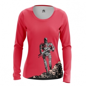 Collectibles Women'S Long Sleeve T-600 Terminator