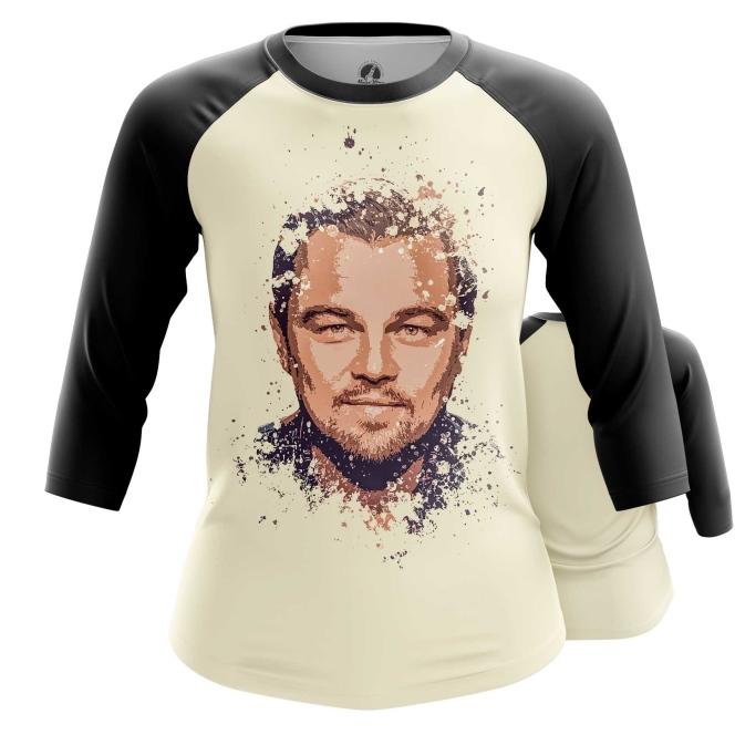Merchandise Women'S Raglan Leonardo Di Caprio Merch