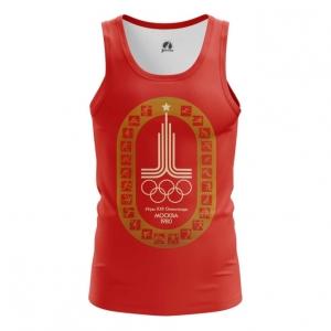 Merch Men'S Tank Olympic Games 1980 Symbols Red