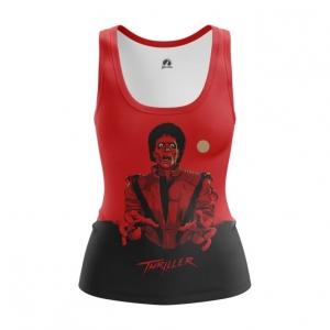 Collectibles Women'S Tank Thriller Michael Jackson Vest